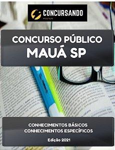 APOSTILA PREFEITURA DE MAUÁ SP 2021 PROFESSOR DE PORTUGUÊS
