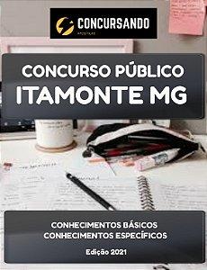 APOSTILA PREFEITURA DE ITAMONTE MG 2021 ASSISTENTE SOCIAL - CRAS
