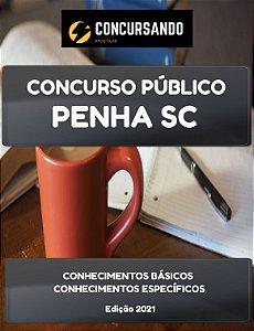 APOSTILA PREFEITURA DE PENHA SC 2021 FISIOTERAPEUTA