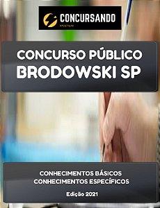 APOSTILA PREFEITURA DE BRODOWSKI SP 2021 PROFESSOR DE INGLÊS