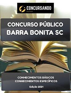 APOSTILA PREFEITURA DE BARRA BONITA SC 2021 TÉCNICO EM ENFERMAGEM