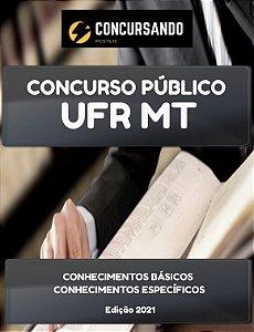 APOSTILA UFR MT 2021 TÉCNICO DE LABORATÓRIO/MECÂNICA