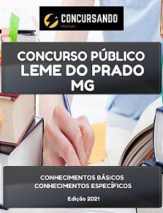 APOSTILA PREFEITURA DE LEME DO PRADO MG 2021 AUXILIAR ADMINISTRATIVO II