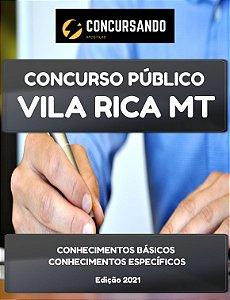 APOSTILA PREFEITURA DE VILA RICA MT 2021 FISCAL TRIBUTÁRIO