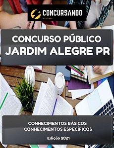 APOSTILA PREFEITURA DE JARDIM ALEGRE PR 2021 AGENTE COMUNITÁRIO DE SAÚDE