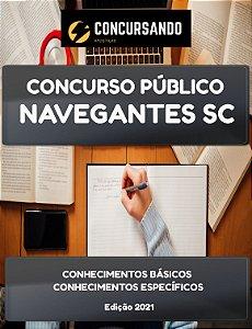 APOSTILA PREFEITURA DE NAVEGANTES SC 2021 TÉCNICO DE SERVIÇOS COMPLEMENTARES