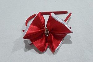 Tiara Luxo Vermelho