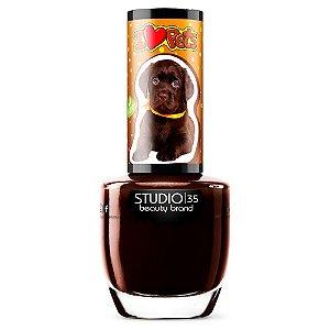 Esmalte Vegano Studio 35 labradorchocolate - Coleção ILovePets