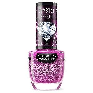 Esmalte Vegano Studio 35 Babyglow - Coleção Crystal Effect III
