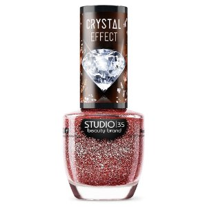 Esmalte Vegano Studio 35 Rubyprecioso - Coleção Crystal Effect III