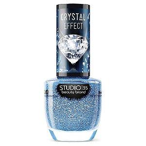 Esmalte Vegano Studio 35 Mardocaribe - Coleção Crystal Effect III