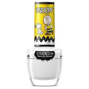 Esmalte Fortalecedor  Studio 35 #SnoopyMelhorAmigo - Coleção Snoopy