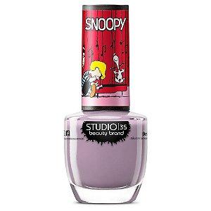 Esmalte Studio 35 #SnoopyDancarino - Coleção Snoopy
