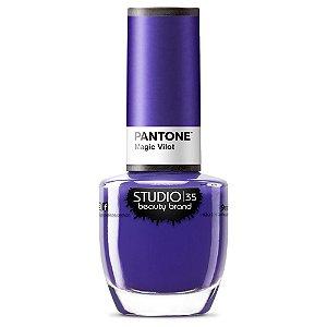 Esmalte Fortalecedor Studio 35 Magic Violet - Coleção Pantone