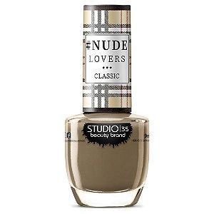 Esmalte Fortalecedor Studio 35 #NudeMilitar - Coleção #NudeLoversClassic
