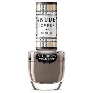 Esmalte Fortalecedor Studio 35 #NudeElegante - Coleção #NudeLoversClassic