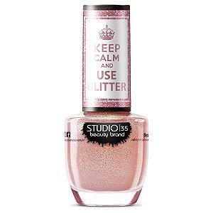 Esmalte Studio 35 #ComoEuAmo - Coleção Use Glitter