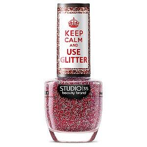 Esmalte Fortalecedor Studio 35 #DiaDeMaldade - Coleção Use Glitter