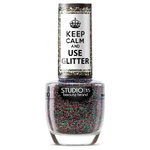 Esmalte Studio 35 #FascinaçãoGlitter - Coleção Use Glitter