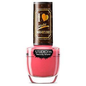 Esmalte Studio 35 #RosaMaravilhosa - Coleção I Love Minha Manicure