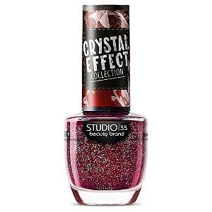 Esmalte Studio 35 #SeguraOsElogios - Coleção Crystal Effect