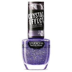 Esmalte Studio 35 #FeitiçoParaoCrush - Coleção Crystal Effect