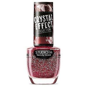 Esmalte Studio 35 #Sensualizando - Coleção Crystal Effect