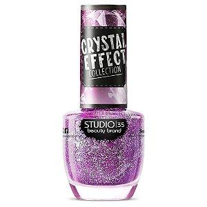Esmalte Studio 35 #FadaMadrinha - Coleção Crystal Effect
