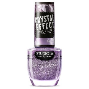 Esmalte Studio 35 #Lacrei - Coleção Crystal Effect