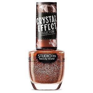 Esmalte Studio 35 #CrushVaiPirar - Coleção Crystal Effect