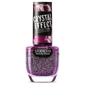 Esmalte Fortalecedor Studio 35 #LindoqueDói - Coleção Crystal Effect
