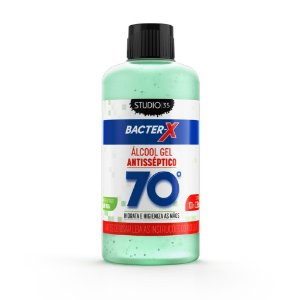 Álcool Gel Bacter-X 70% Antisséptico - Aloe Vera - 100ml