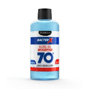 Álcool Gel Bacter-X 70% Antisséptico - Algas Marinhas - 100ml