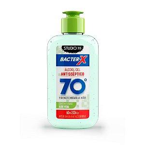 Álcool Gel pra bolsa Bacter-X 70% Antisséptico - Aloe Vera - 60ml