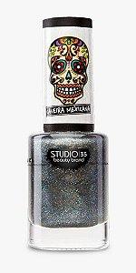 Esmalte Fortalecedor Studio 35 #ForaCoisaRuim - Coleção Caveira Mexicana