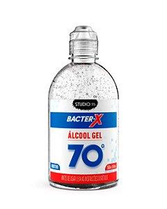 Bacter- X Alcool Gel Antisseptico Neutro sem fragrância e Sem Corante