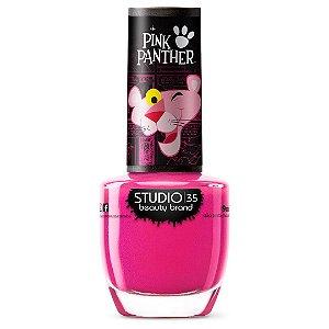 Esmalte Fortalecedor Studio 35 #PanteraVibrante - Coleção Pantera Cor de Rosa