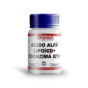 ÁCIDO ALFA LIPOÍCO 200 MG + COENZIMA Q10 100 MG CÁPSULAS