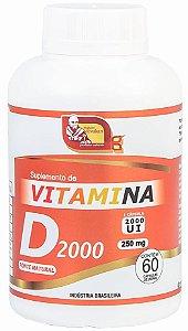 VITAMINA D3 2000 UI 60 CÁPSULAS - MOSTEIRO DÉVAKAN