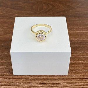 Anel Cravação Inglesa - Cristal