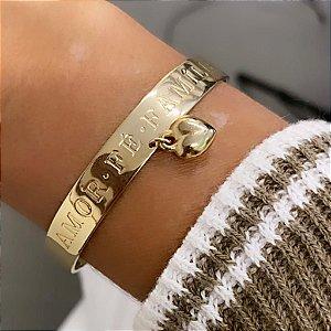 Bracelete - Amor, Fé, Família