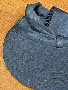 Viseira Com Proteção UV - Azul-Jeans
