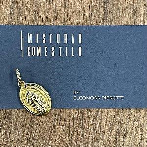 Medalha Nossa Senhora de Guadalupe - Dourada