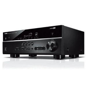Receiver Yamaha A/V RX-V385 5.1 Canais UltraHD Bluetooth