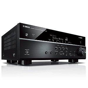 Receiver Yamaha A/V RX-V585 7.2 Canais 4K WiFi Bluetooth