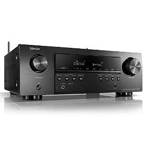 Receiver Denon AVR-S650H 5.2 Canais WiFi 4K UltraHD Bluetooth