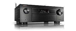 Receiver Denon AVR-X4700H 9.2 Canais Wi-Fi 8K HDR10 Bluetooth