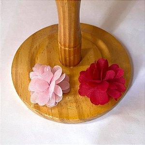 Laço Flor de pompom
