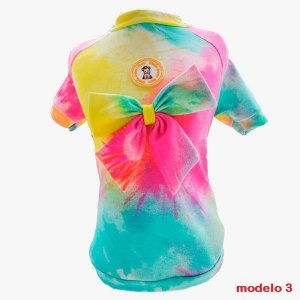 Modelos em Tie Dye Simba