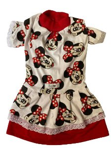 Vestido em malha Minnie
